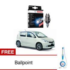 Bosch Busi Super 4 FR78X Mobil Daihatsu Sirion - 1 Pcs - Free Bolpoin