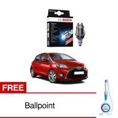 Bosch Busi Super 4 FR78X Mobil Toyota Yaris - 1 Pcs - Free Bolpoin