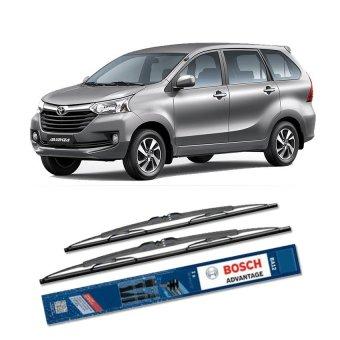 Bosch Sepasang Wiper Kaca Mobil Toyota Avanza Advantage 16