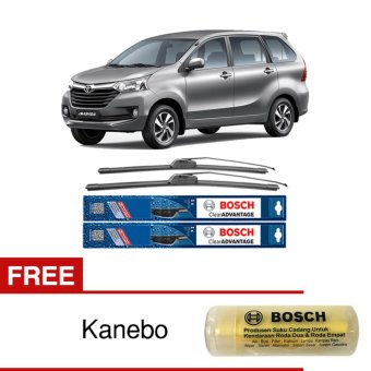 Bosch Sepasang Wiper Mobil Toyota Avanza Frameless New ClearAdvantage 20