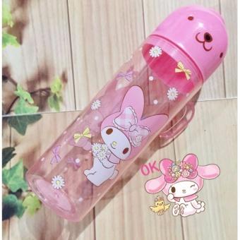 Botol Tuang Plus Gelas Kitty Kucing My Melody Impor 280 mL