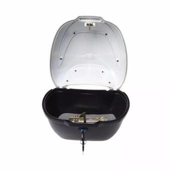 BOX MOTOR UNIVERSAL CORVUS BRZ-816 19 Liter Hitam Metalik - 3