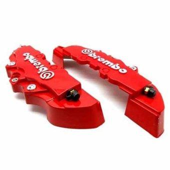 Brembo Brake Cover Besar 2 Buah - Merah