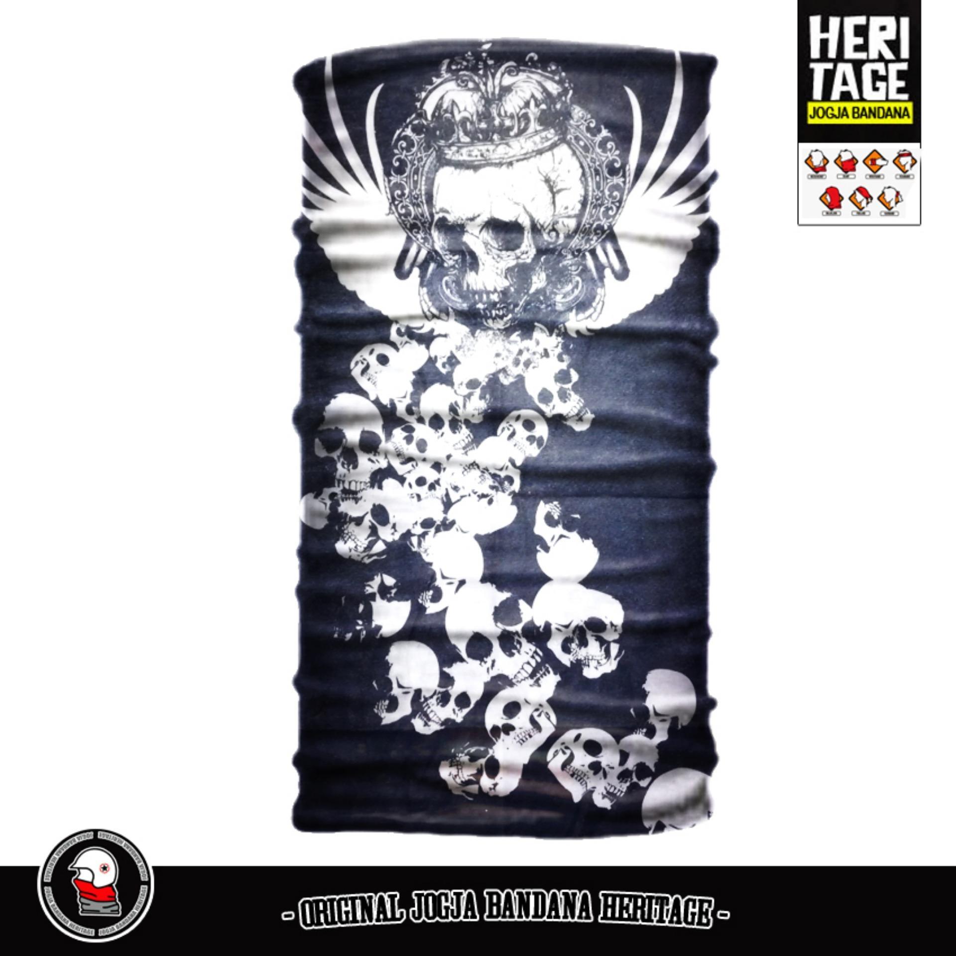 Belanja Murah Buff Bandana Masker Serbaguna Elastis Tanpa Sambungan Seamless Limited Edition