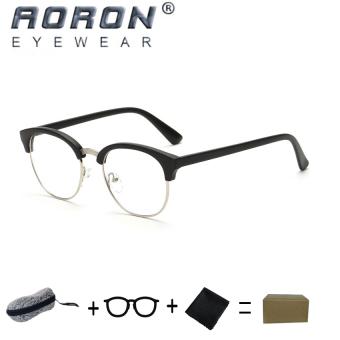 [Buy 1 Get 1 Freebie] AORON New Retro Fashion Reading GlassesAnti-fatigue Computers