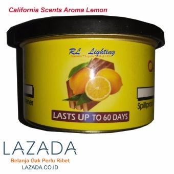 California Scents Pengharum / Pewangi Mobil - Lemon - 3 .