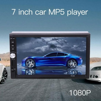 """Car 7\""\"" 2DIN Touch Screen MP5 Player Support Bluetooth AUX TF Card FM Radio - intl\"""