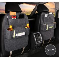 Car seat organizer Tas Mobil Multifungsi, Mobil Lebih Rapih dan Nyaman (Tersediah Warna grey, hitam,  coffe,  hotpink,  biru,  dan ungu)