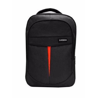 Carboni Make Myday Backpack Tas Ransel Laptop MA0001 17 -Black + Raincover  Watererproop 28b8f5a607