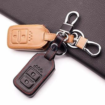 Case Sarung kunci smart key Leather Cover Honda CIVIC HRV JAZZ RS CITY ACCORD CRV 2