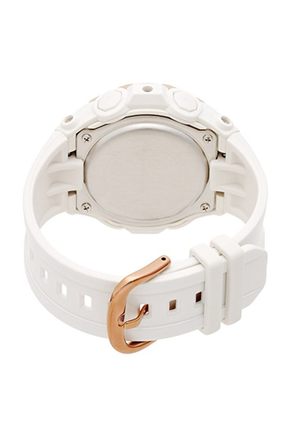 Casio Baby-G kaca Mineral wanita bga-220g - 7A putih - Internasional