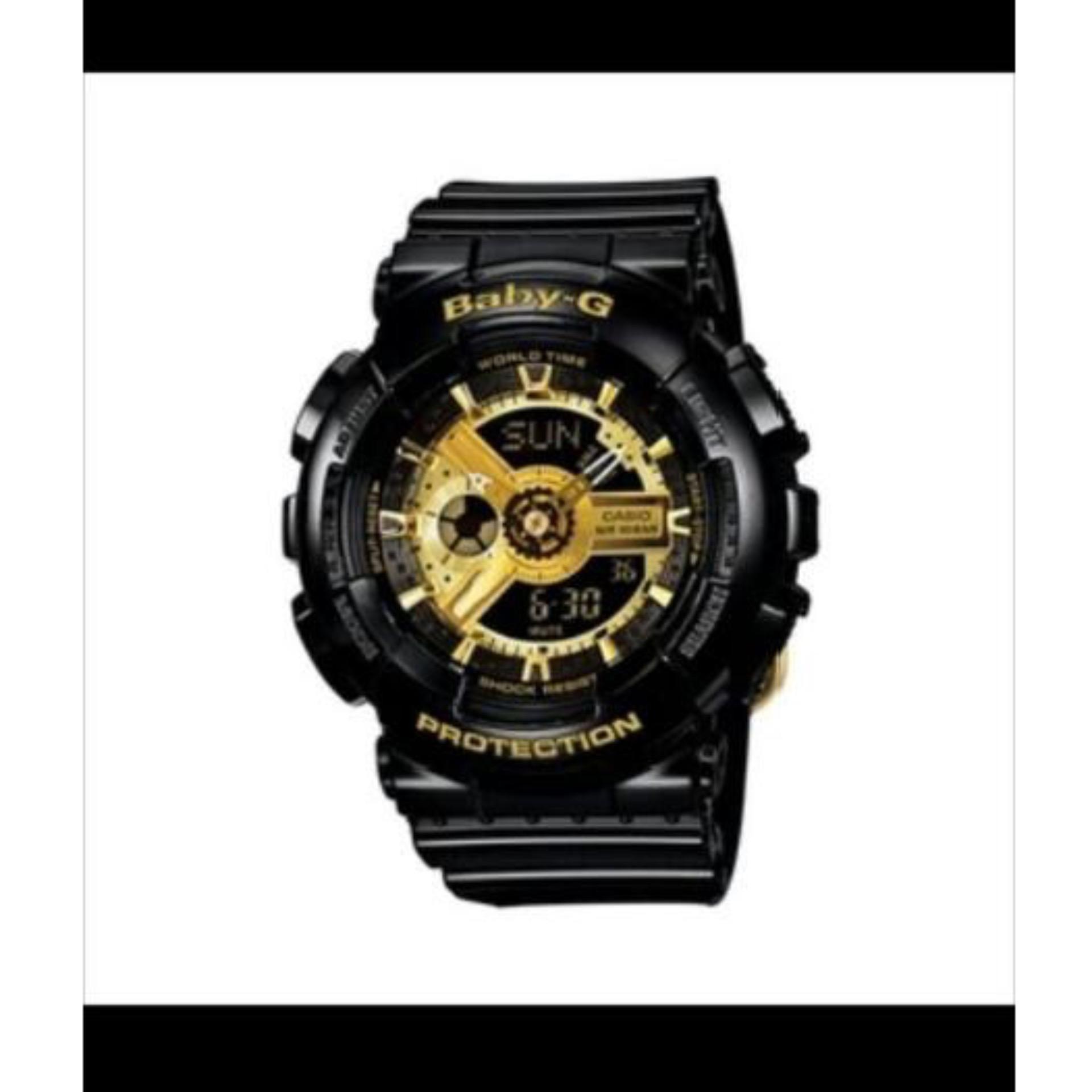 Casio Baby-G Women's Black Resin Strap Watch .