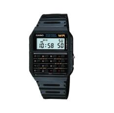 Casio Calculator Watch - Jam Tangan Unisex - Strap Karet - Hitam - CA-53W