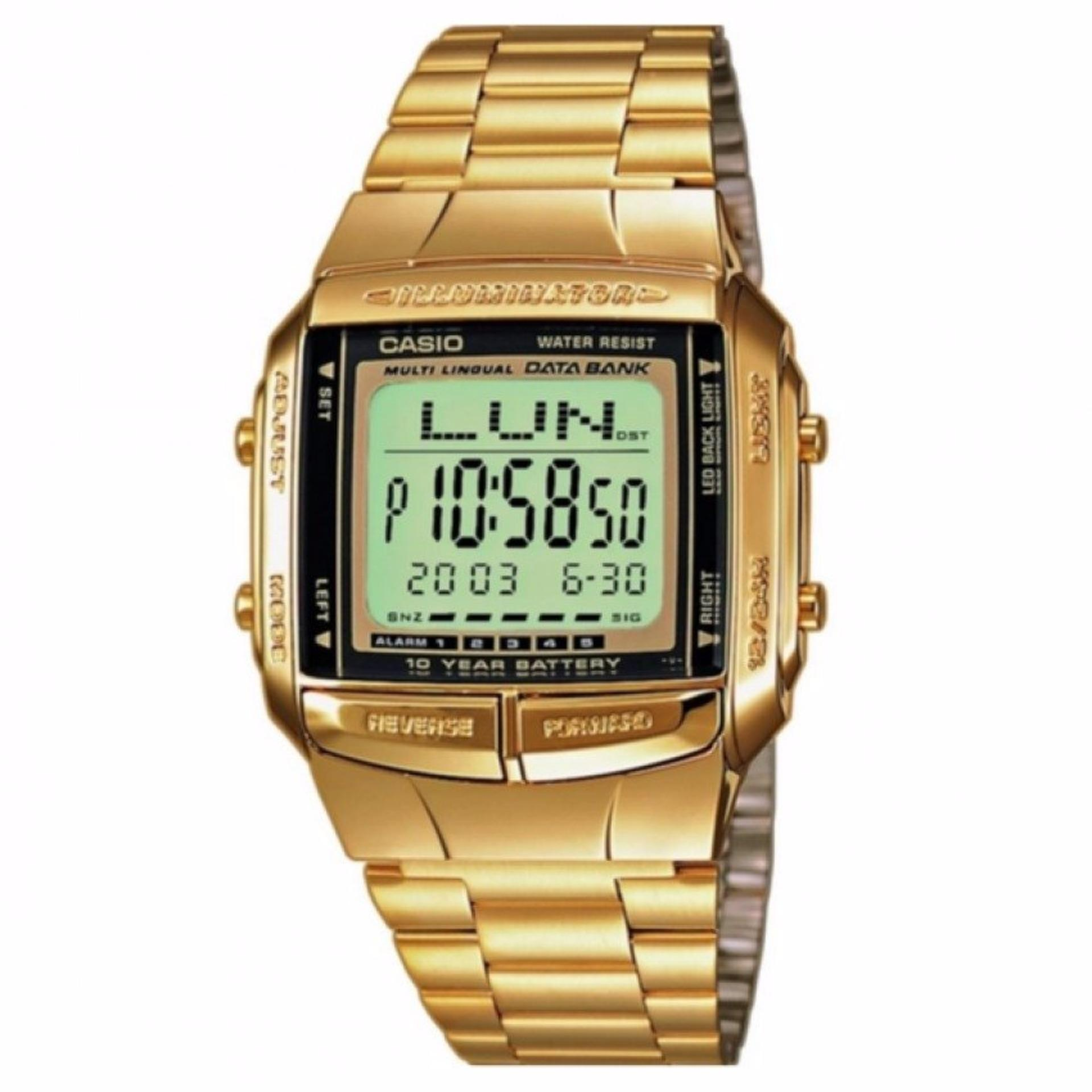 Pencarian Termurah Casio Db 360g 9adf Jam Tangan Unisex Gold Original Digitec Stainless Steel