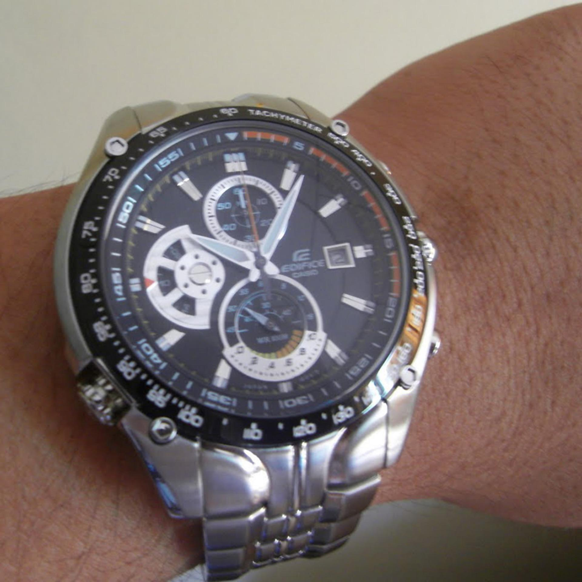 Fossil Machine Chronograph Jam Tangan Pria Silver Stainless Steel Ch2600 Hitam Casio Ediface D46h1329ef543d2avudf Chain