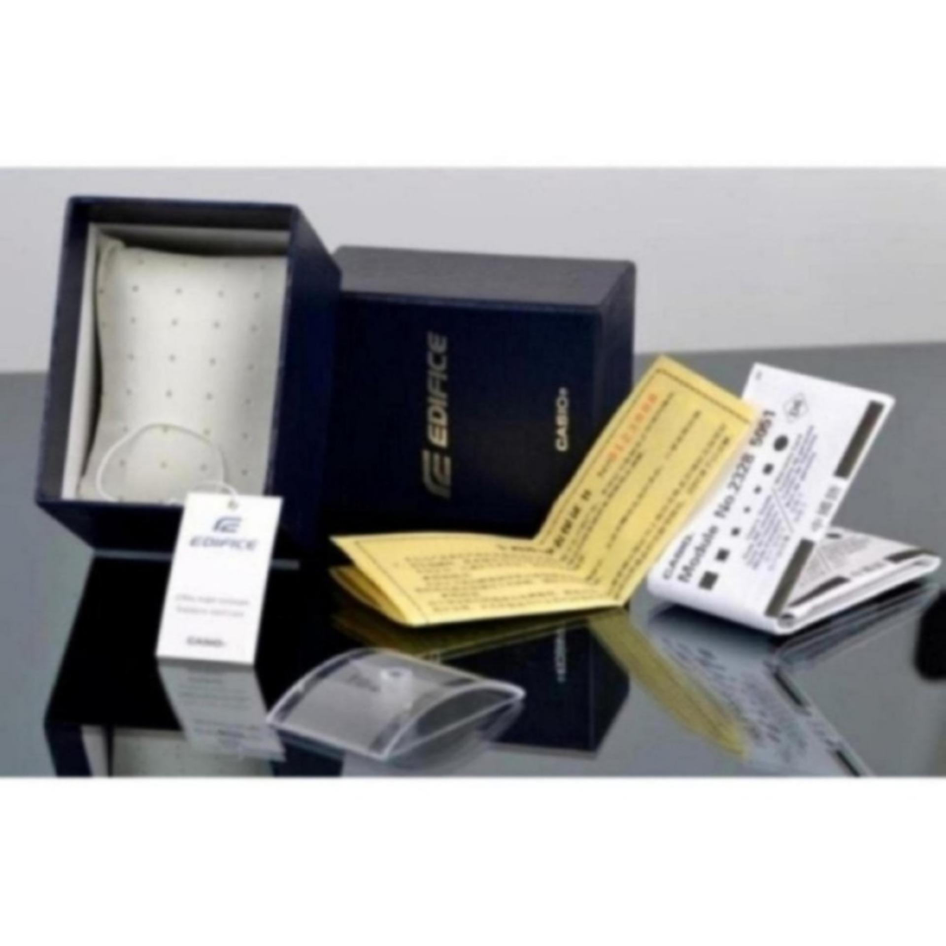 Casio Edifice Efr 539d 7av Jam Tangan Pria Silver Cek Harga 103l 1a4vdf Genuine Leather Black 1av