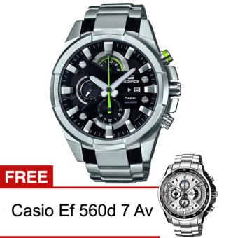 Casio Edifice EFR-540D-1AVUDF FREE Casio Ef 560d 7 Av - Silver