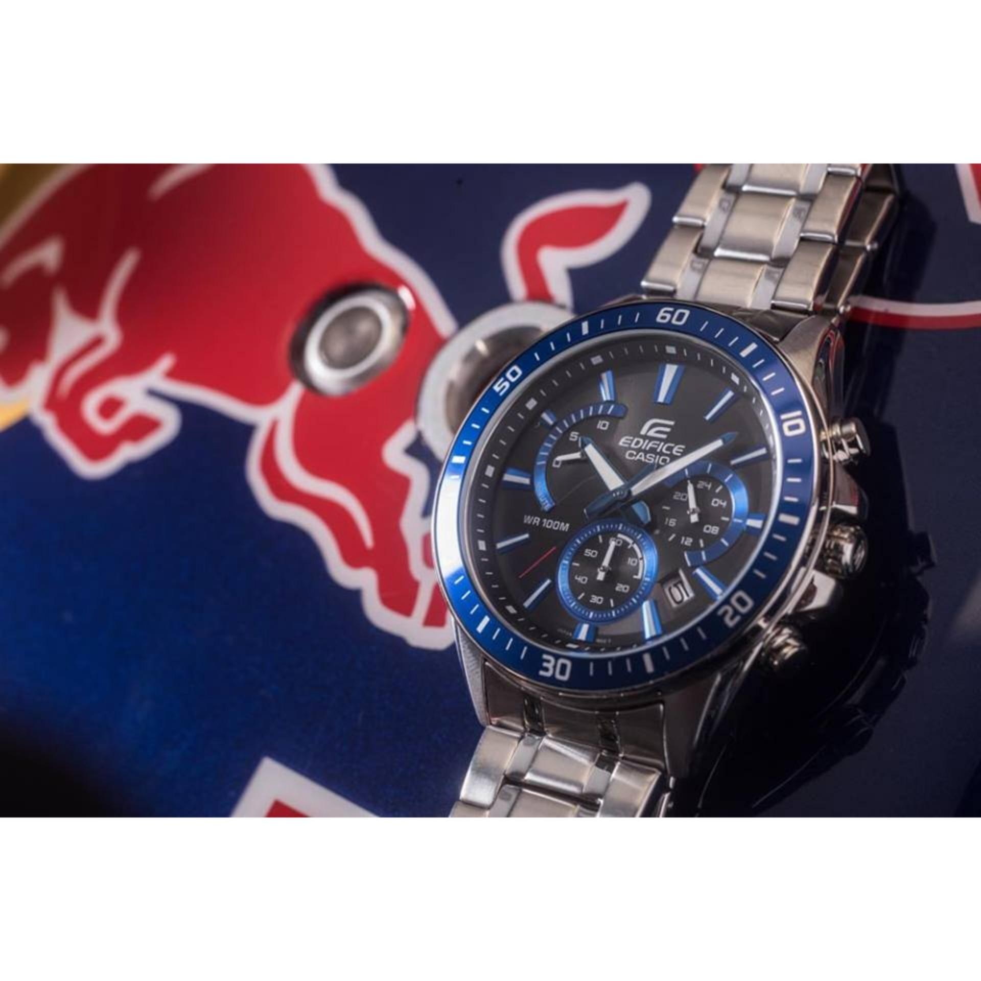 Casio Edifice Ef 539d 1avdf Jam Tangan Pria Stainlesssteel Hitam Efr 535d 1a4v Silver Merah 552d 1a2v Stainless Steel