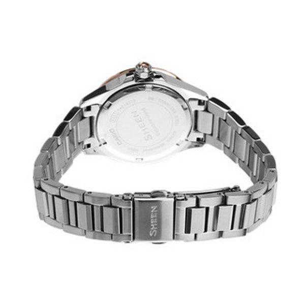 Casio Jam Tangan Wanita SHE-4510SG-7AUDR - Silver .