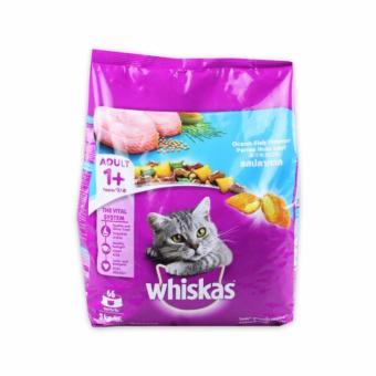 Cat Food / Makanan Kucing Whiskas Ocean Fish 3 kg