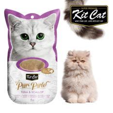 Cat Liquid - Kit Cat Pur Puree Tuna & Scallop
