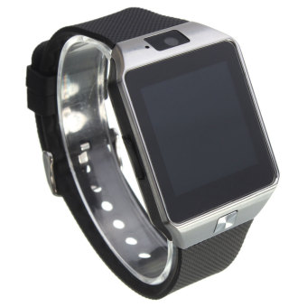 Cerdas Perhiasan GSM Kartu SIM Ponsel Bluetooth Untuk Android iphone Samsung LG Sony HTC Hitam