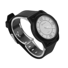 CHEER MINGRUI Kreatif Luxury Wrist Watch Karet Strap QuartzWristWatch 8820 Hitam-Internasional