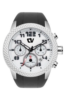 Christ Verra Sport Chronograph Gents Watch - 45mm – Grey - Black / Black