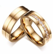 cincin couple original titanium 52