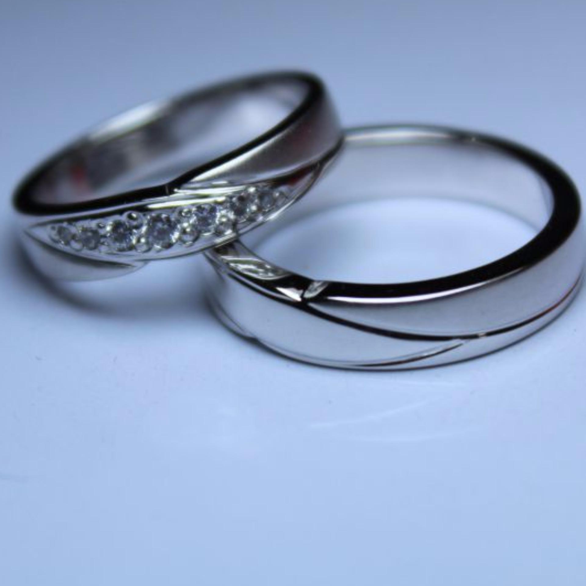 Sepasang Emas Putih 9k Update Daftar Harga Terbaru Indonesia Tiaria Dhtxdfj047 Perhiasan Cincin Dan Zircon White Gold Tunangan Auag