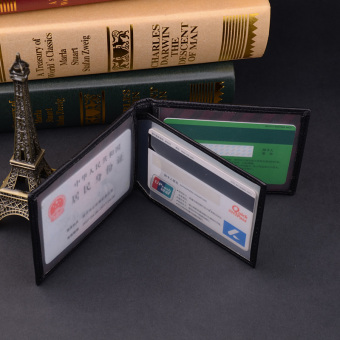 COMBO perempuan dokumen dompet kartu sarung set SIM