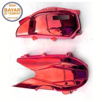 Cover CVT dan Cover Filter Udara Gold Untuk Honda Vario 150 Esp / Cover Mesin Vario