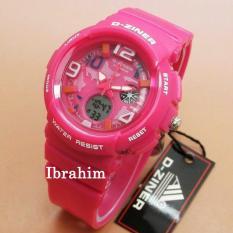 D Ziner Dz 7075 Dual Time Jam Tangan Wanita Rubber Strap Daftar Source .
