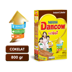 DANCOW FORTIGRO Instant Cokelat Box 800g