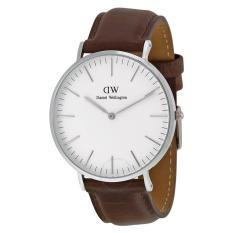 Daniel Wellington Classic Bristol White Dial Men's Watch 0209DW