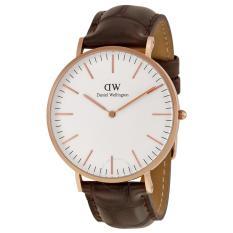 Daniel Wellington Classic York Eggshell White Dial Men's Watch 0111DW