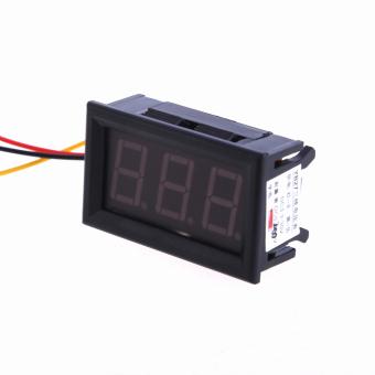 Digital DC 0-200 V Tegangan Pengukur Tegangan Volt Meter Merah Digital Panel Meter