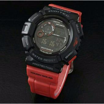 Digitec DG2028-SR Digital Jam Tangan Pria Rubber Strap
