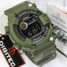 Digitec Jam Tangan Sport Digital 8250 Rubber Army Fishman Series - Hijau
