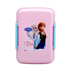 Disney Frozen Lunch Box Elsa Pink