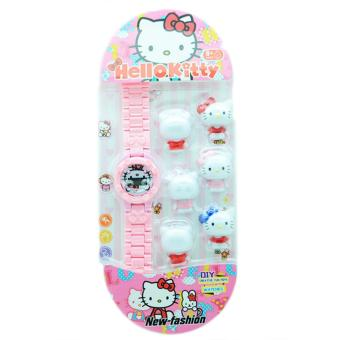 DnB Collection Jam Tangan Anak Digital Lego Hello Kitty - 4