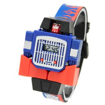 DnB Jam Tangan Anak Digital Transformers Optimus Prime