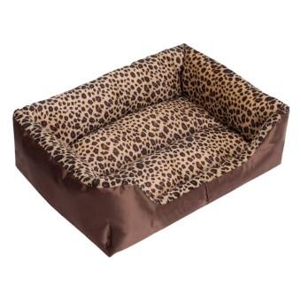 Tempat Tidur Anjing Kennel Sofa Hangat Lembut Mats Anak Anjing Kucing Hewan Peliharaan Rumah Sarang Alas