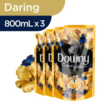 Harga Downy Daring Refill  800ml - PACK OF 3
