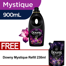Downy Mystique Bottle 900ml FREE Downy Mystique Refill 230ml