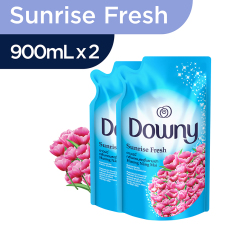Downy Sunrise Fresh Refill 900ml - Paket isi 2
