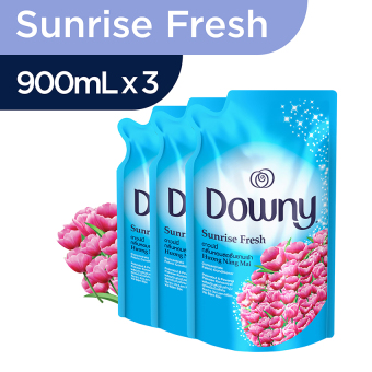 Downy Sunrise Fresh Refill 900ml - Paket isi 3