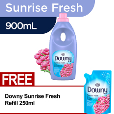 Downy Sunrise Fress Bottle 900ml FREE Downy Sunrise Fress Refill 250ml