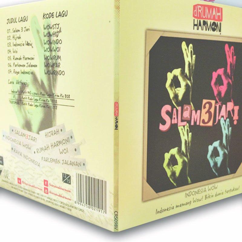 d'Rumah Harmoni CD Koleksi Musik + T-Shirt