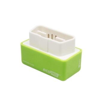 Eco OBD2 Ekonomi Chip Tuning Kotak Bekerja untuk Bensin Mobil Bensin Kendaraan Hijau-Intl